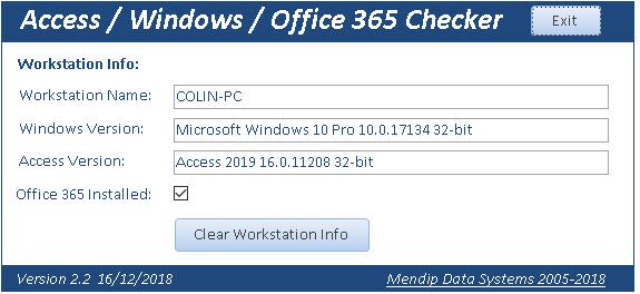 Access/Windows/Office365 Checker - Access World Forums