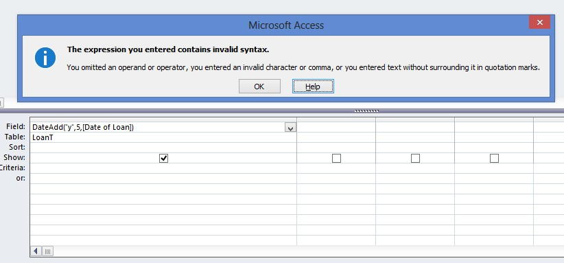 DateAdd Function in a Computed Querry - Access World Forums