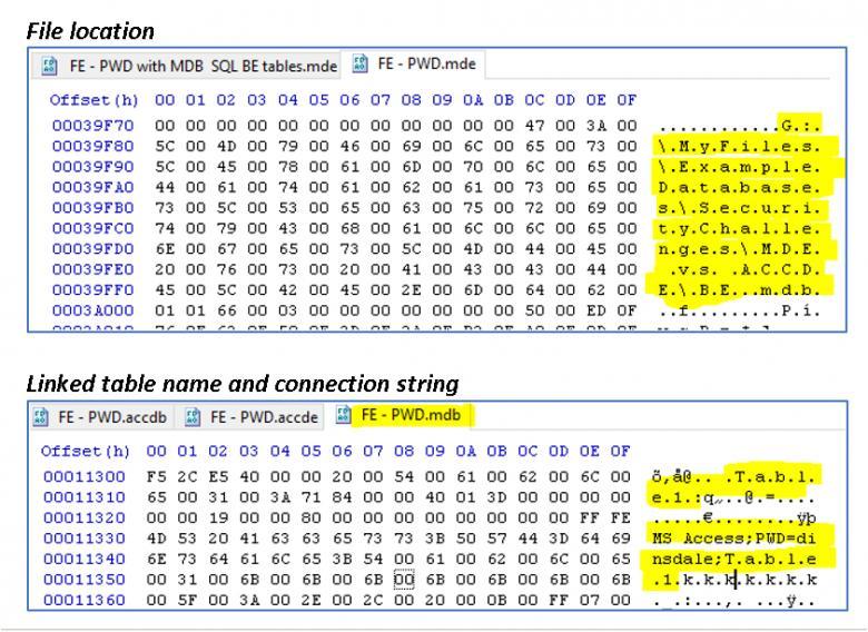 Access File Security : MDB / MDE vs ACCDB / ACCDE - Access