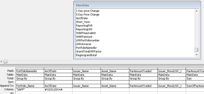 Passing a parameter through VBA - Access World Forums